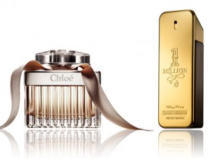 Chloé, 1 Million de Paco Rabbane