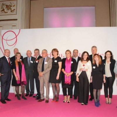 Les 70 ans de la SFP: six présidents et l'équipe organisatrice