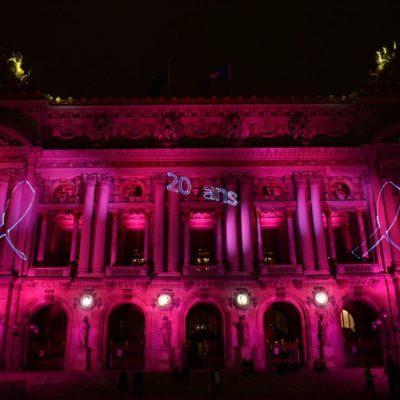 Les 20 ans du Ruban Rose à Paris