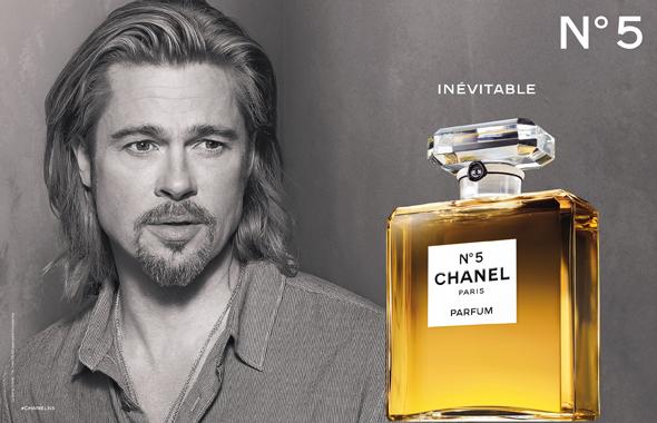 Chanel n°5 - Pub Brad Pitt