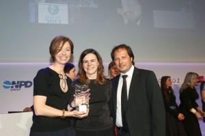 Fabienne Maury, Myriam Badeau et François Pellegrin