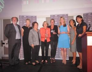 Les lauréates des Achiever Awards 2013 du CEW