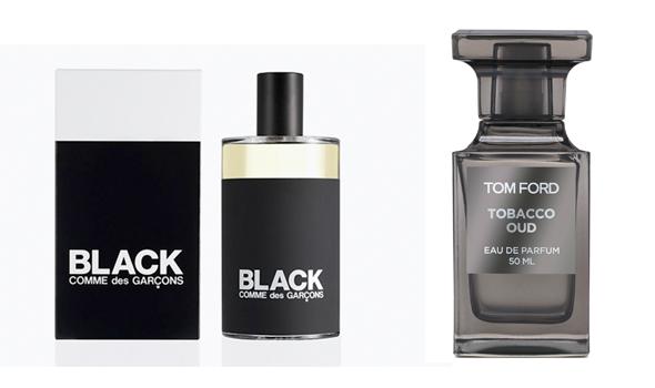 Black, de Comme des Garçons et Tobacco Oud, de Tom Ford