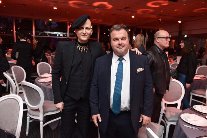 Ali Madhavi et Pierre Hermé, Jury des Fifi Awards d'Or