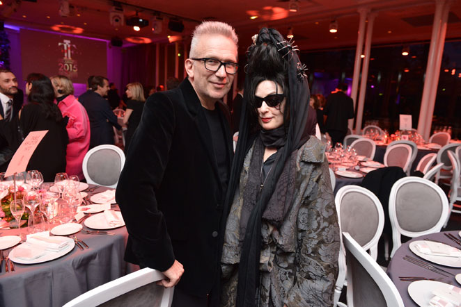 MONSIEUR JEAN PAUL GAULTIER et DIANE PERNET Jury des Fifi Awards d'Or
