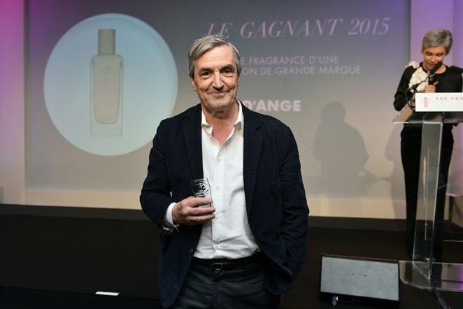 Jean-Claude Ellena, parfumeur-créateur de la maison Hermès (Prix des experts - Cuir d'Ange - Meilleure fragrance d'une collection d'une grande marque)