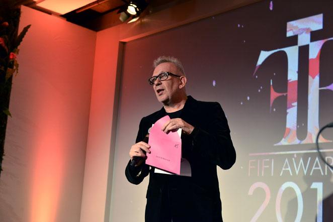 Monsieur Jean Paul Gaultier - Président du Jury des Fifi d'Or 2015