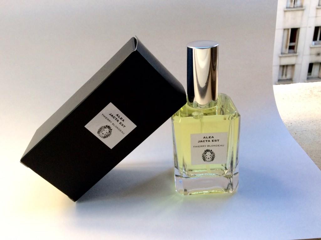 Alea Jacta Est, premier parfum de la marque Thierry Blondeau