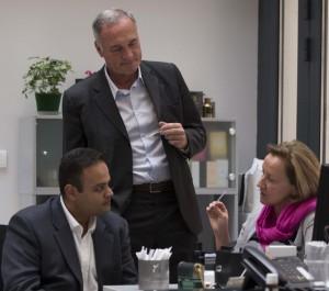 Rajiv Sheth, Francis Hembert et Isabelle Ferrand