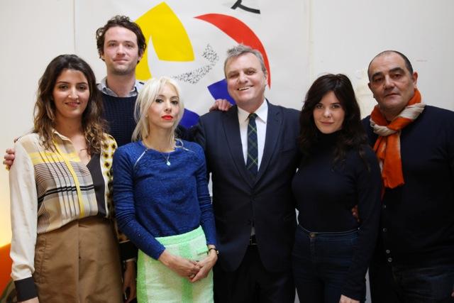 Selma Mami, Louis-Marie de Castelbajac, Bénédicte Martin, Jean-Charles de Castelbajac, Lou Lesage et Christian Ghion