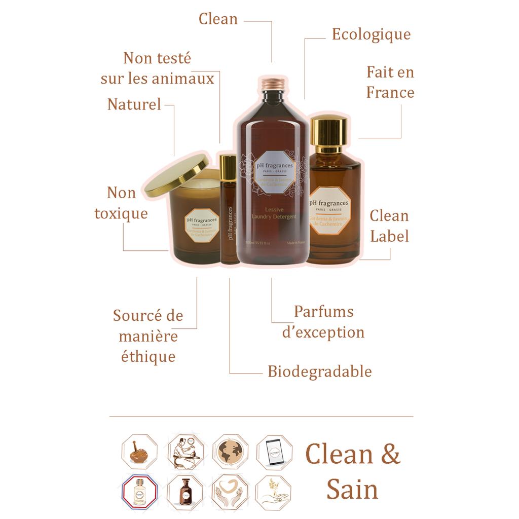 ph fragrances : parfums clean