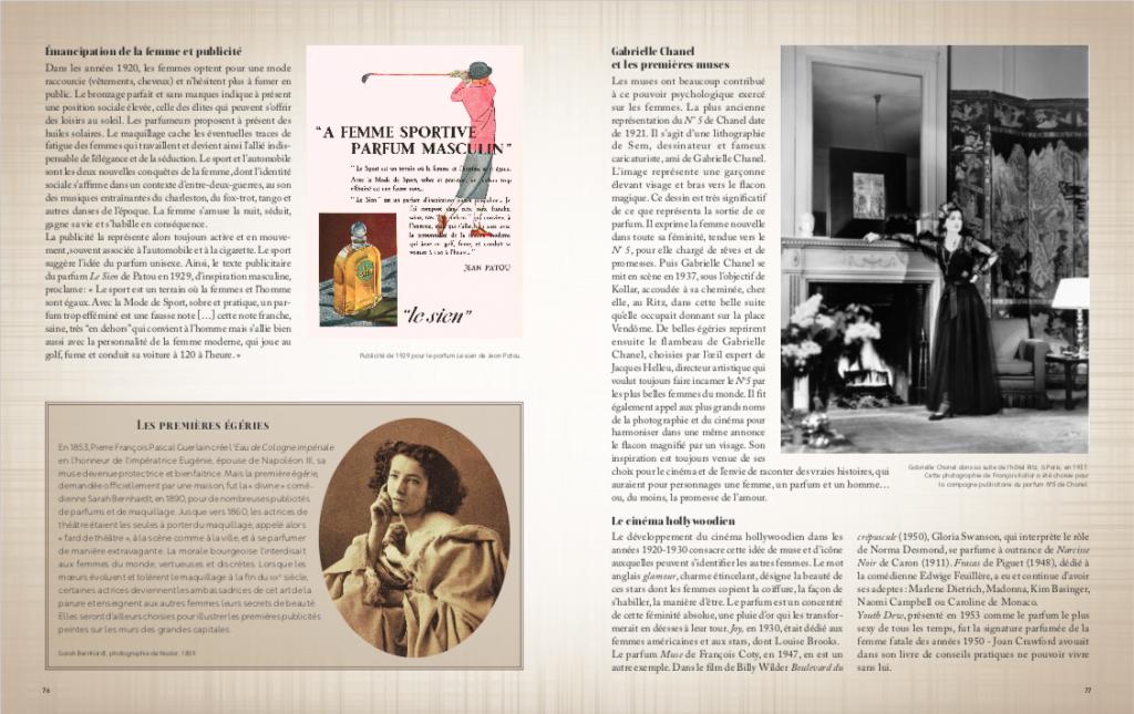 La Grande Histoire du Parfum - Elisabeth de Feydeau -Larousse