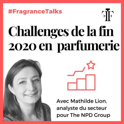 challenges de la fin 2020 en parfumerie