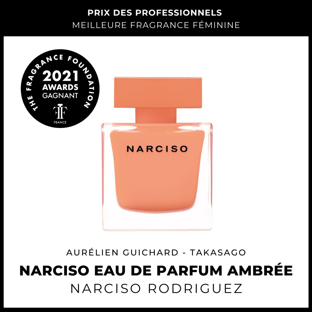 Narciso Eau de Parfum Ambrée Narciso Rodriguez Aurélien Guichard (Takasago)