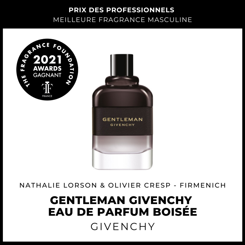 Gentleman Givenchy Eau de Parfum Boisée Givenchy Nathalie Lorson & Olivier Cresp (Firmenich)