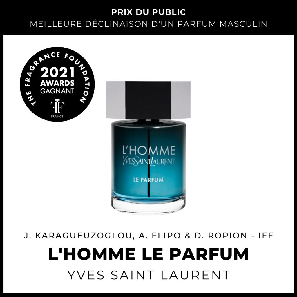 L'Homme Le Parfum Yves Saint Laurent Juliette Karagueuzoglou, Anne Flipo & Dominique Ropion (IFF)